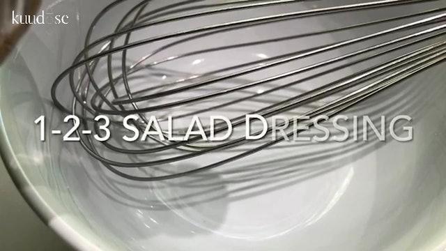 1-2-3 Salad Dressing (Recipe)