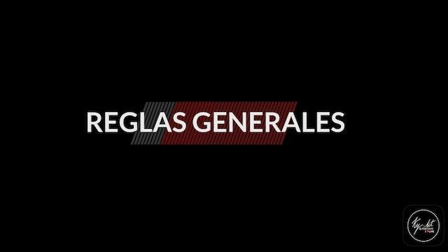 NUTRICIÓN - SEPTIEMBRE 2021 - REGLAS GENERALES