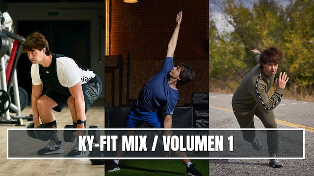 KY-FIT MIX - VOLUMEN 1 - 1/4/2021