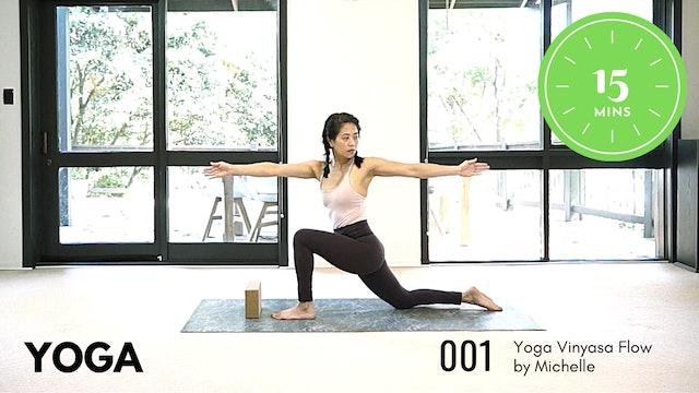 Yoga ep.1 Easy 15 Minute Routine