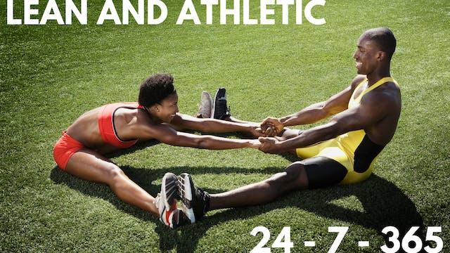 ep2. Getting Athletic Lean 365 days o...