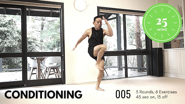 Conditioning ep.5 - EASY - Get your Cardio On - 25 Minutes