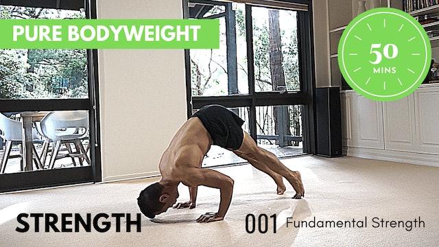 ep.1 Beginner Strength - Fundamental Series - 50 Minutes