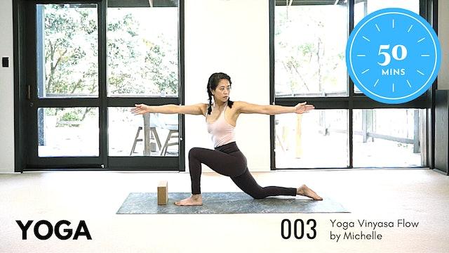 Yoga ep.3 Medium 50 Minute Routine