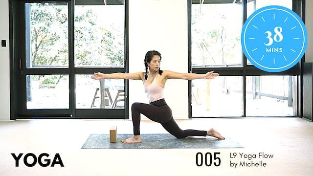 Yoga ep.7 Intermediate 38 Minute Routine