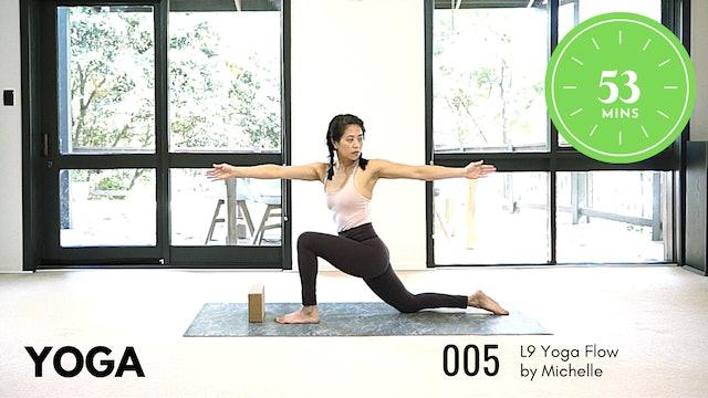 Yoga ep.5 Beginner 53 Minute Routine