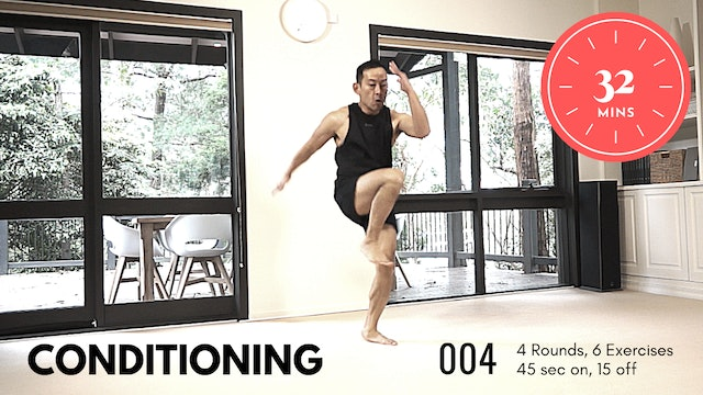Conditioning ep.3 - HARD - Get your Cardio On - 32 Minutes