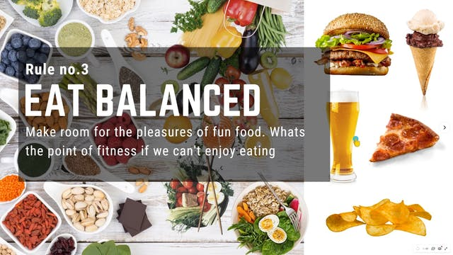 ep.5 - Rule #3 - Eat Balanced