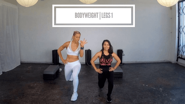 Bodyweight | Legs 1