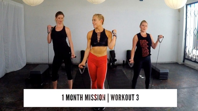 1 Month Mission | WORKOUT 3