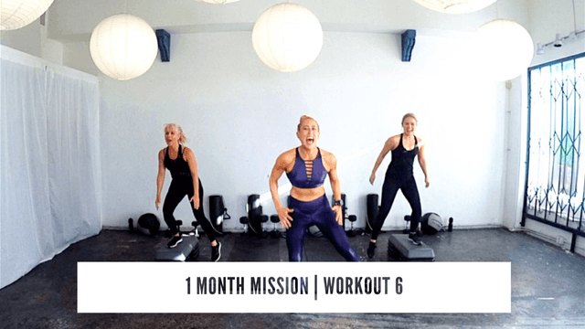 1 Month Mission | WORKOUT 6