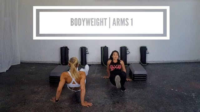 Bodyweight | Arms 1