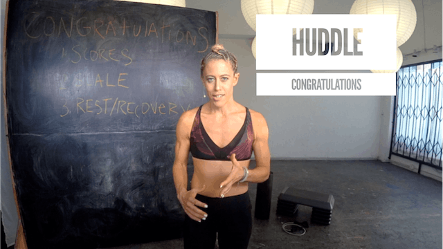 Huddle | Congratulations!