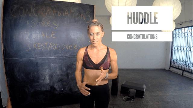 Huddle | Congratulations!