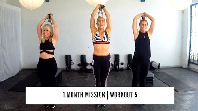 1 Month Mission | WORKOUT 5