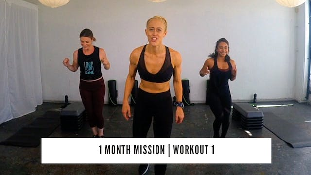 1 Month Mission | Test Day | WORKOUT 1