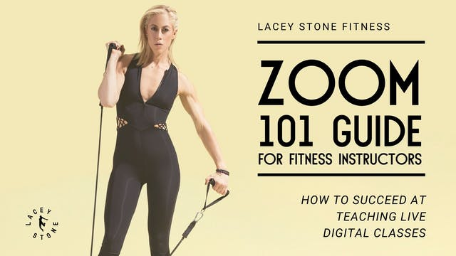 Zoom 101 Guide for Fitness Instructors