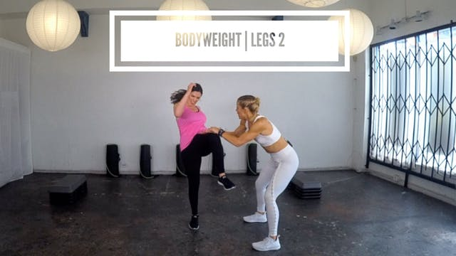 Bodyweight | Legs 2