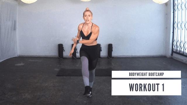 Bodyweight Bootcamp | Workout 1