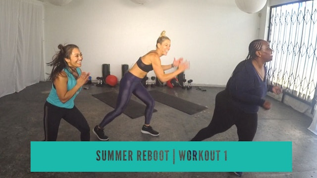 August REBOOT 2019 | Workout 1