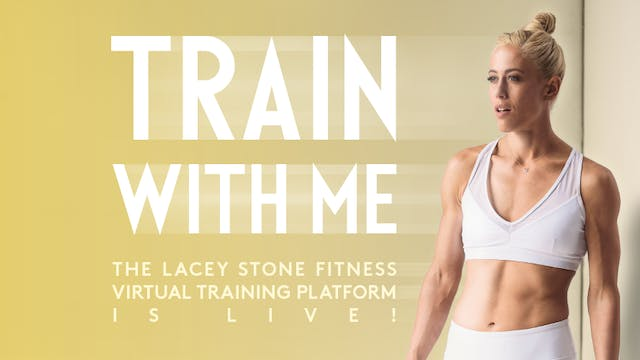 Lacey Stone Fitness Virtual Training Subscription