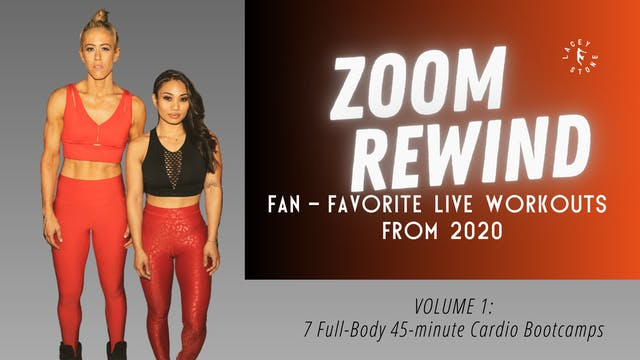 Zoom Rewind: Fan-Favorite Live Workouts from 2020
