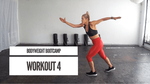 Bodyweight Bootcamp | Workout 4