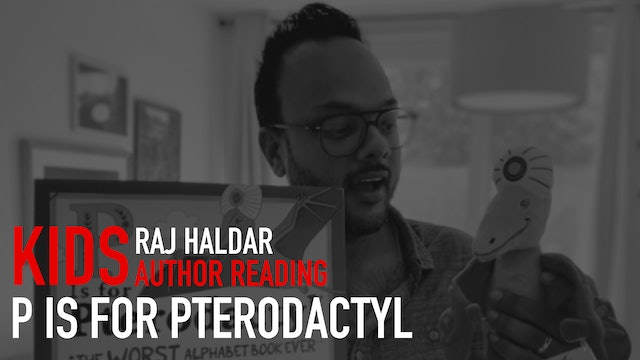 "Kids Reading: ""P Is for Pterodactyl : The Worst Alphabet Book Ever"" 
