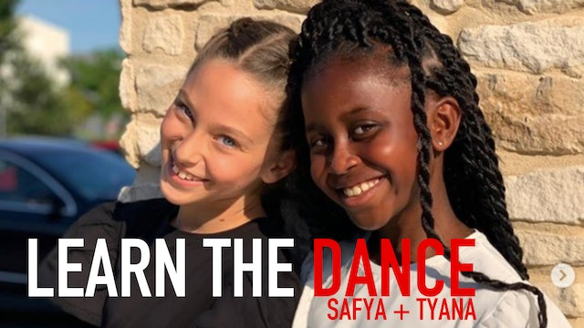 Learn the Dance with Safya and Tyana