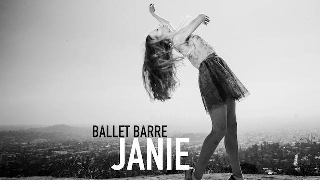 Masterclass 4 with Janie Taylor