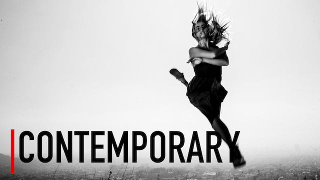 Advanced   Contemporary Class 3 with ...