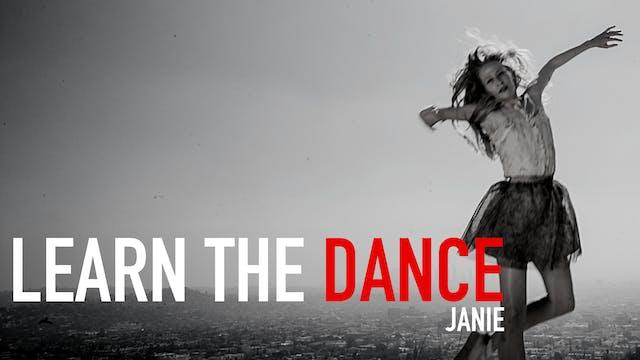 Learn the Dance - Bolero 2 with Janie...