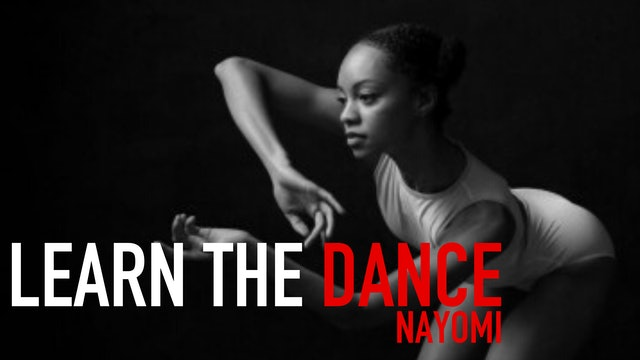 Learn the Dance 5 with Nayomi Van Brunt