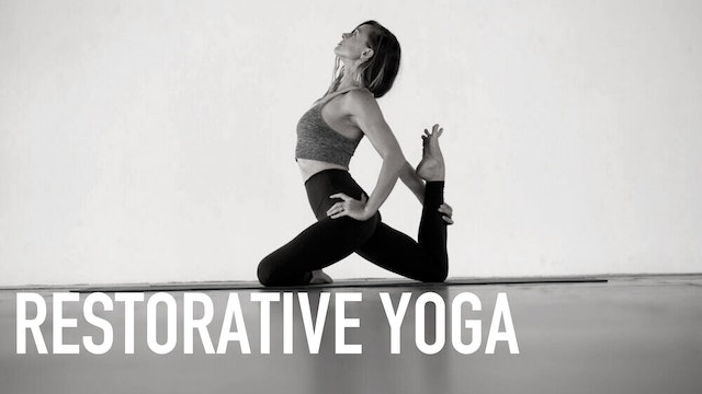 Restorative Yoga with Audra Stanley | Part 2