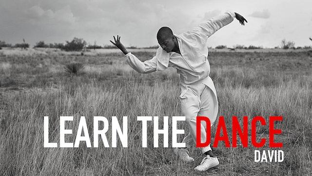 Learn the Dance 4 with David Adrian Freeland Jr.
