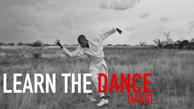 Learn the Dance 2 with David Adrian Freeland Jr.