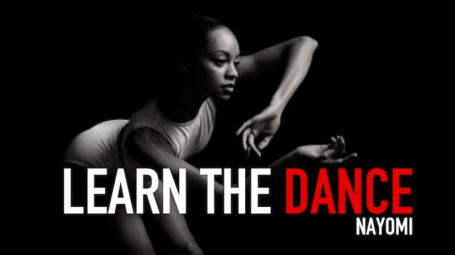 Learn the Dance 2 with Nayomi Van Brunt