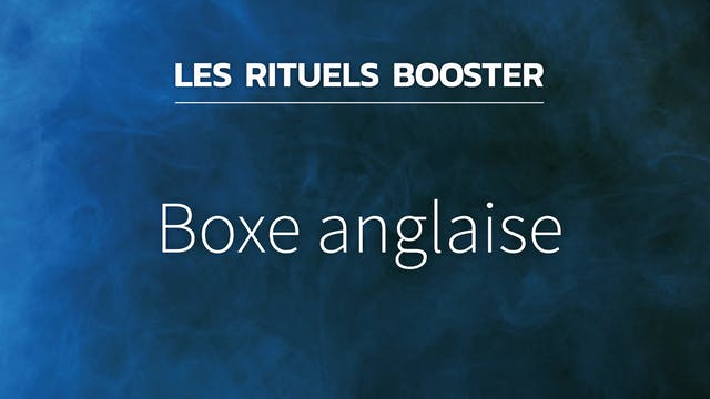 RB#17 - Boxe anglaise