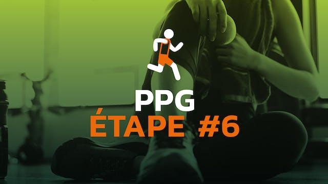 PPG - Étape #6