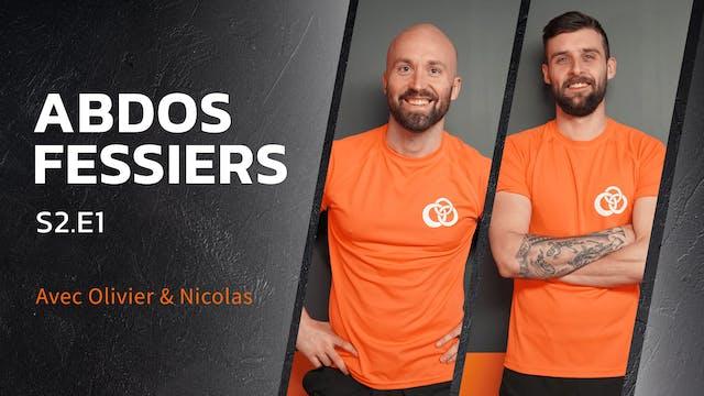 Abdos-Fessiers - S2:E1 - Abs burner !