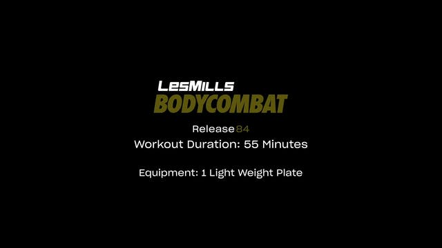 BodyCombat #84 - 55 min