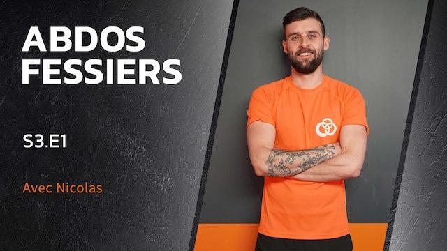 Abdos-Fessiers - S3:E1 - Simple, basique, efficace