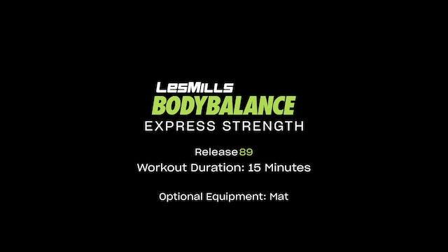 BodyBalance #89 - 15 Min (Force)