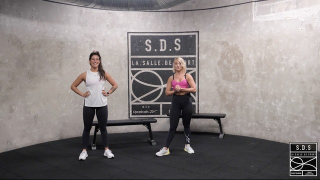 BOOTY SHAPE avec Camille RIBOLLET & Sandra FERNANDES