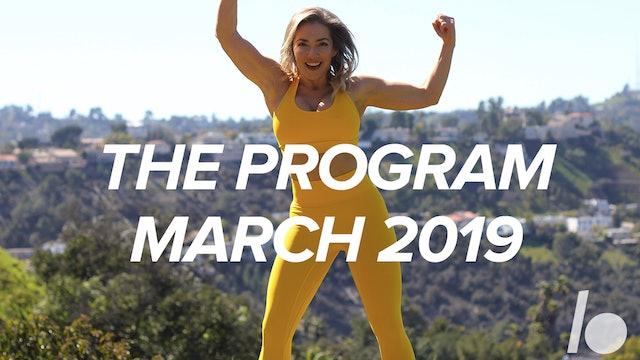 March Program 2019