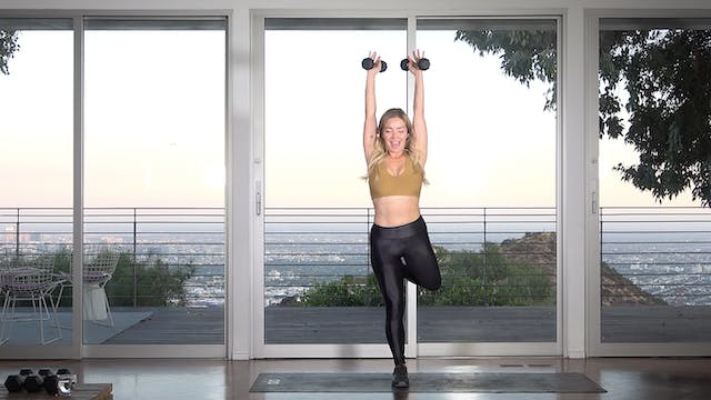 Quick Burn: 10-min Peachy (Cardio Core)