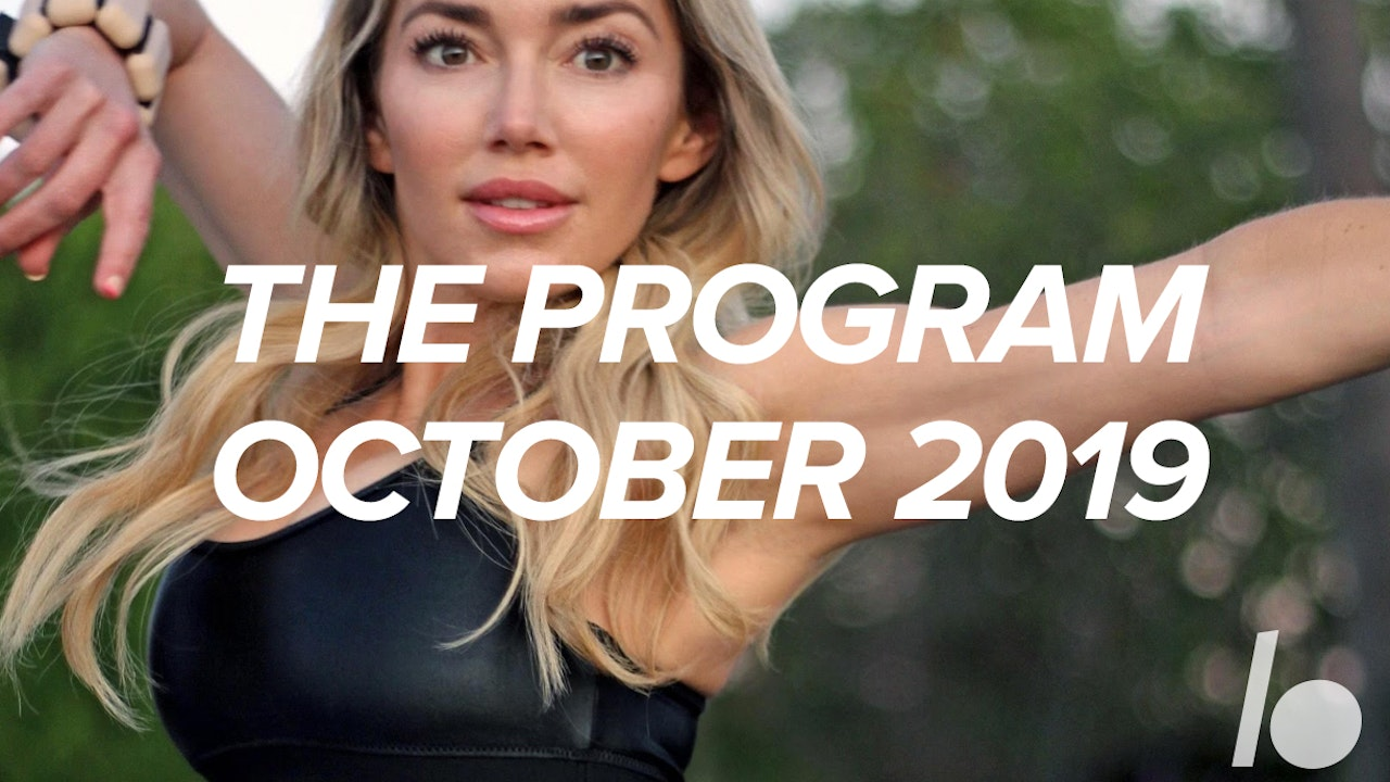 Oct 2019 The Program
