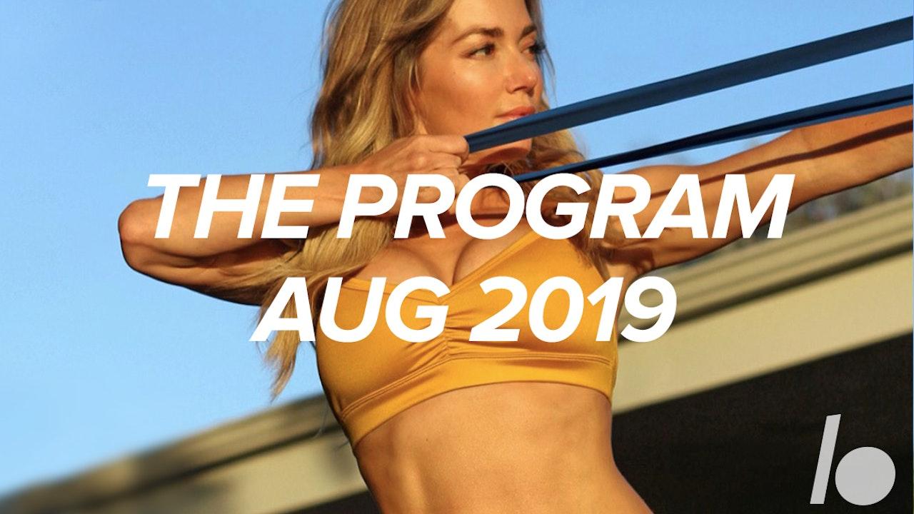August 2019 The Program