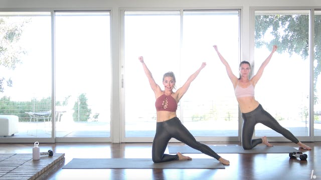 Quick Burn: 9-min Core + Waist Toning