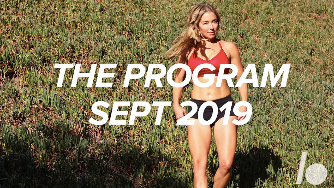 Sept 2019 The Program